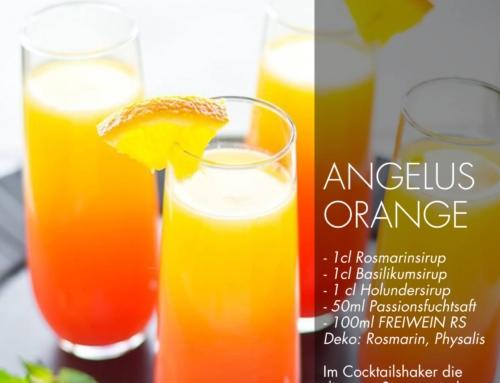 FREIWEIN Champagner-Cocktail Angelus Orange