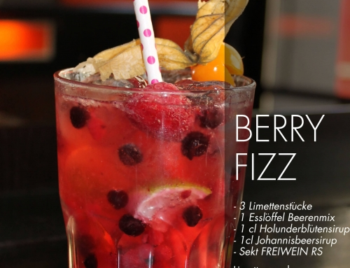 FREIWEIN Cocktail Berry Fizz