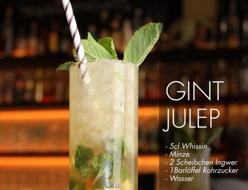 Freiwein Cocktail Gint Julep
