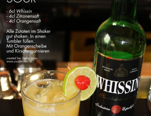 Freiwein Cocktail Whissin Sour