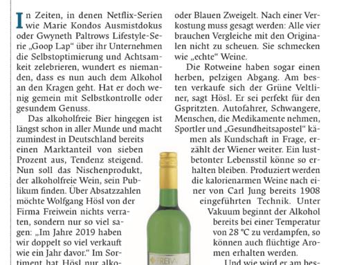 Falter 7/20 Alkoholfreier Wein – Muss das wirklich sein?